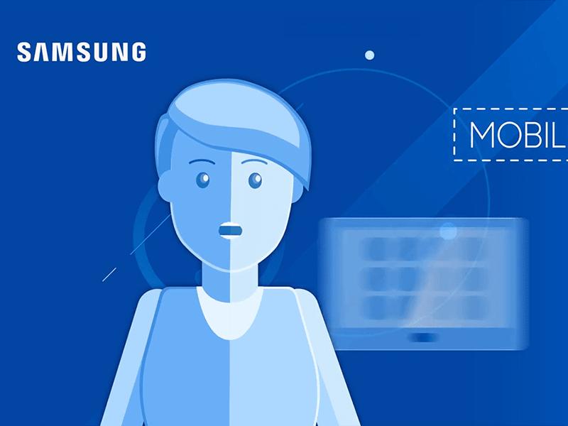 Digital marketing - video animations Samsung success story